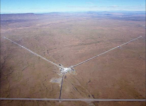 Aerial Picture of LIGO Hanford Observatory